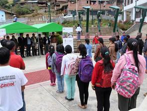 CULMINÓ EL MODULO DE HORTALIZAS ORGÁNICAS EN EL DISTRITO DE CAJAY