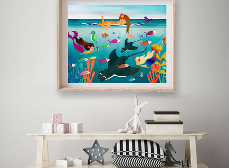Beach Kids Bedroom Ideas!