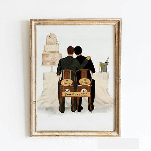 ROMANTIC VENUE WEDDING POSTER