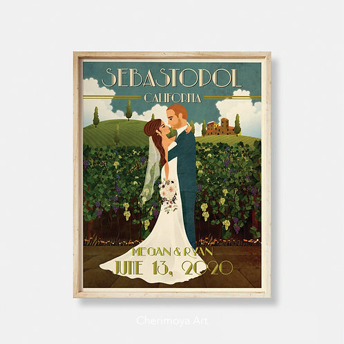 VINEYARD VENUE WEDDING GIFT
