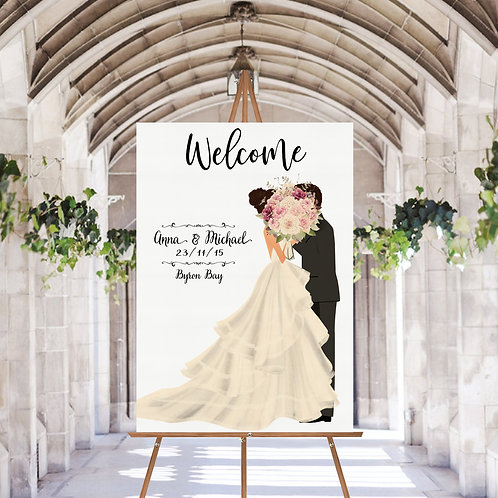 WELCOME WEDDING POSTER
