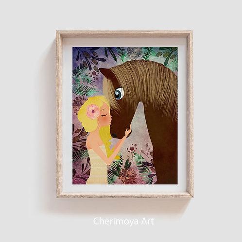 HORSE GIRL BLOND