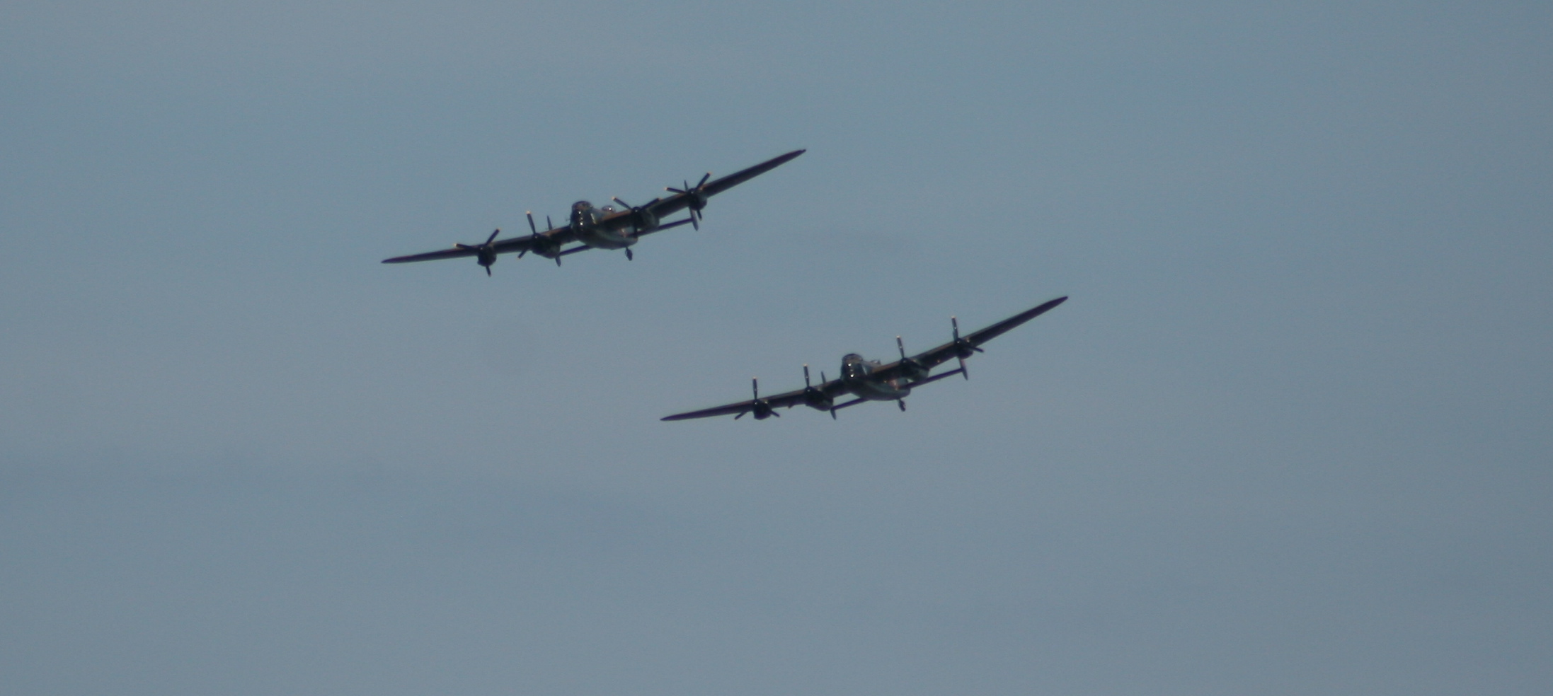 The LANCASTER BOMBERS