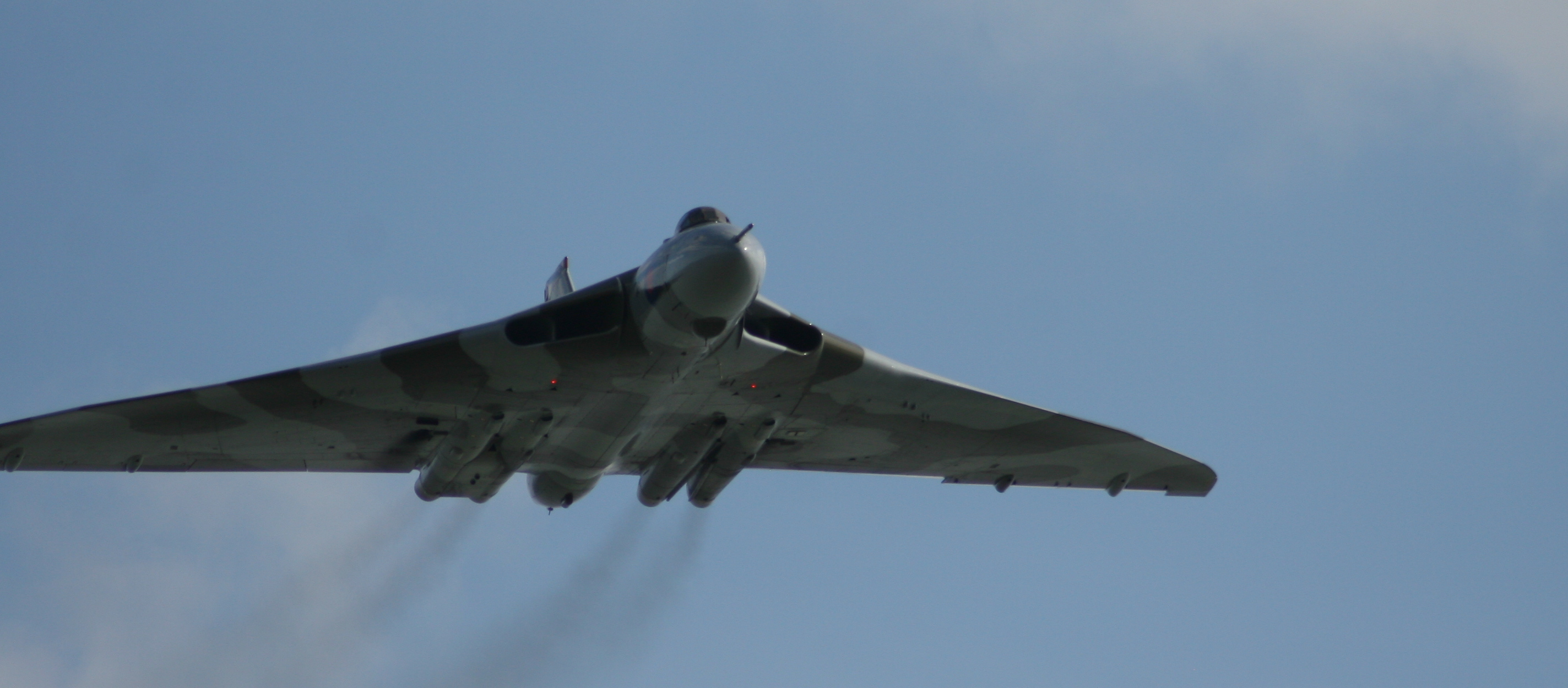 In the flight path of the Vulcan