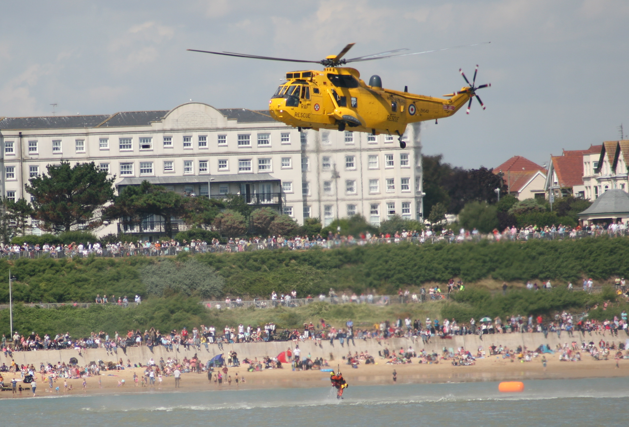 Air Sea Rescue display