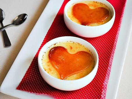 Creme Brulee & Valentine's Day
