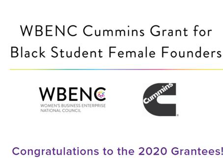 WBENC Cummins Grant Awards Solo's Food $6000