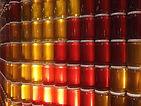 Les miels peuvent selon leurs origines avoir différentes couleurs.