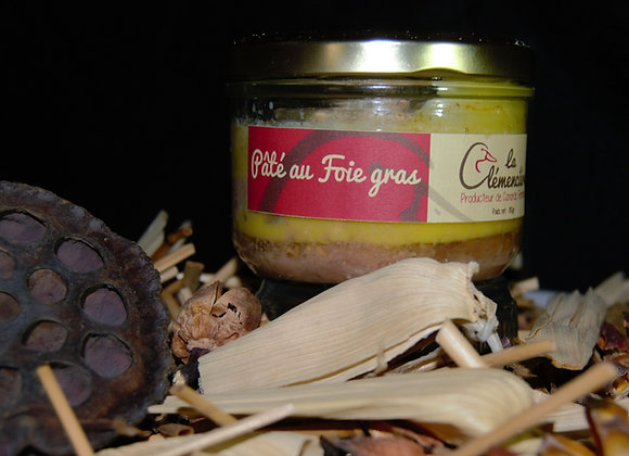 Paté au foie gras 180g