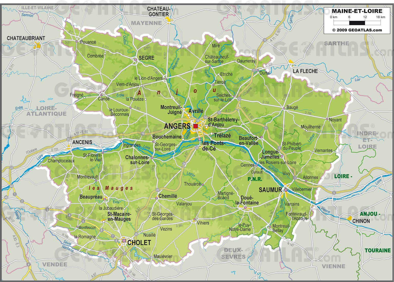 Le Maine et Loire