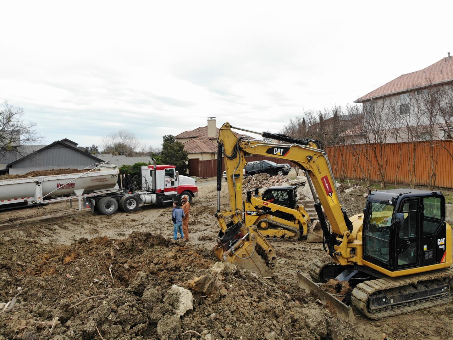 Retaining Wall Demolition