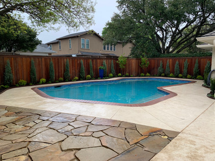 Pool Side Landscaping & Patio