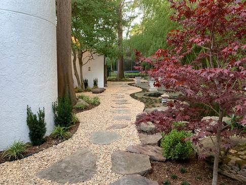 N Dallas Landscape Renovation