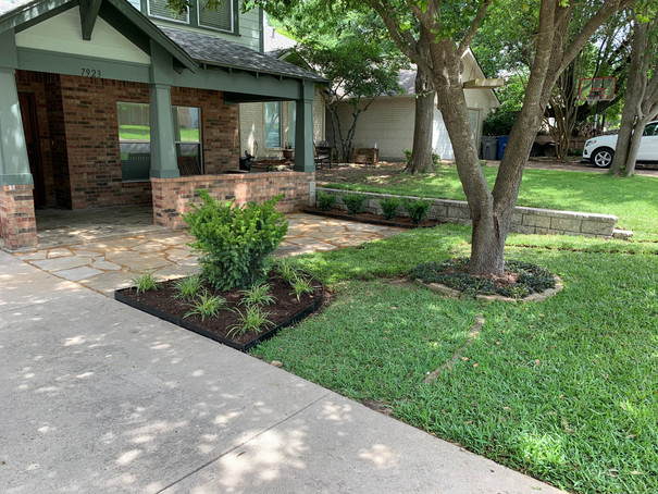 Retaining Wall, Patio, & Landscape