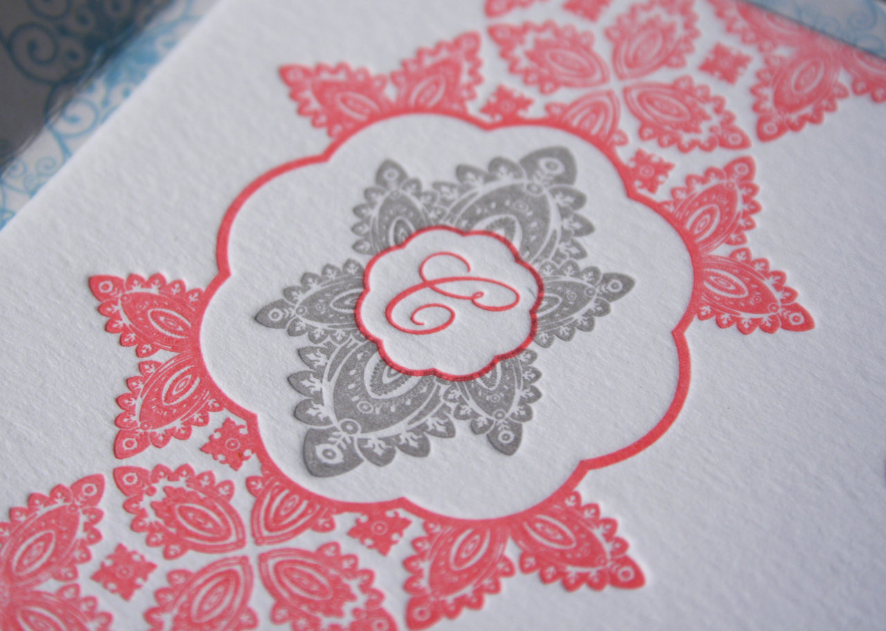 Mexico Letterpress Wedding