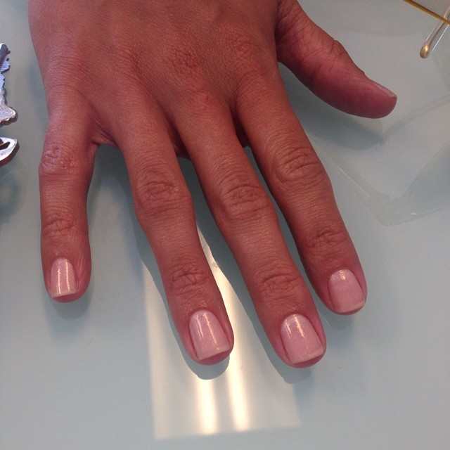 #neutral #chanel #frisson #summer #hotcolornow #manicure #nails #ghmanicure #pamperedsoles