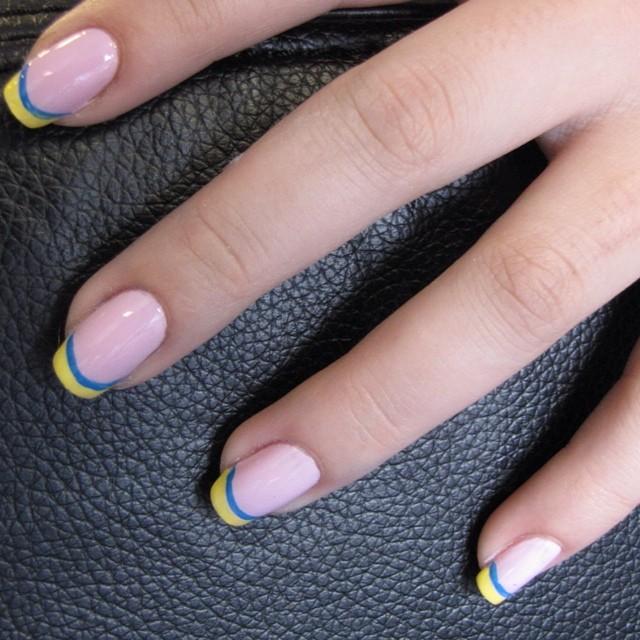 #cute #fun #manicure #summer #nails #nailart #ghmanicure #pamperedsoles _love_racing_43 #pamperedsol
