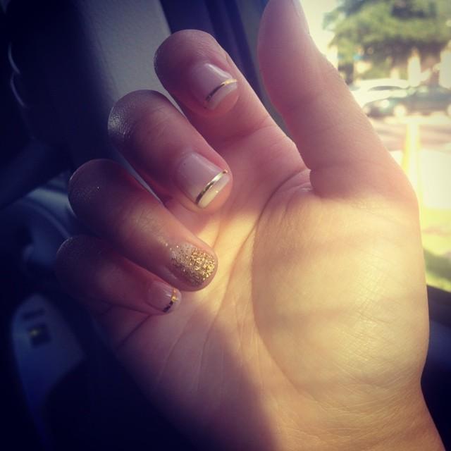 Baby Girl _chloenguyen__ #nails #nailart #manicure #weekend #ghmanicure #pamperedsoles