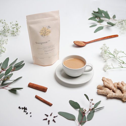 spicy ginger chai (170g)