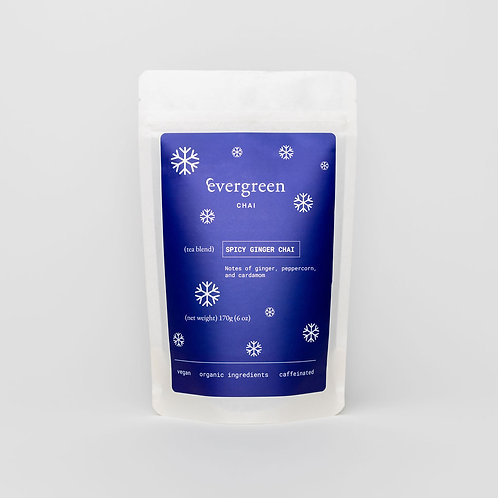 spicy ginger chai - grocery/retail service case