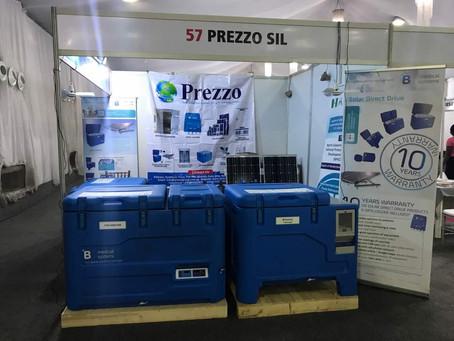 Prezzo Attends 4th Pharma Manufacturers Expo, Lagos.