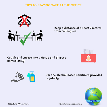 In-office Safety Tips