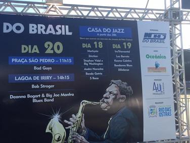 Leo Barreto na Casa do Jazz - Festival Jazz&Blues de Rio das Ostras