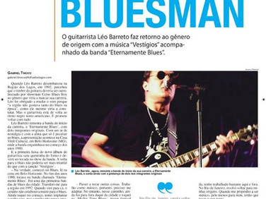 "Leo Barreto ""de volta ao Blues"""