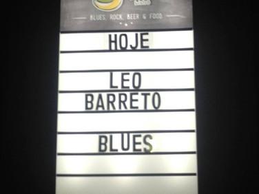 Show Leo Barreto Rock Blues Band em Pará de Minas (MG)
