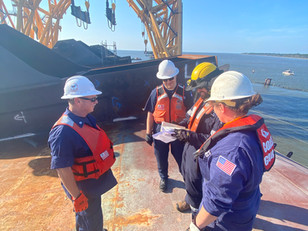 Assessments of the Golden Ray wreck continue