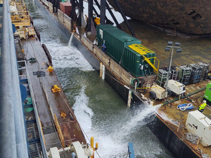 Photo Release: Section One travels to a local site for sea fastening