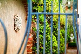 1803 Courtyard Dawn 01