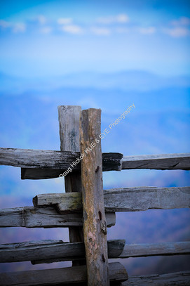 2015 Blue Ridge Parkway Split Rail Fence 01