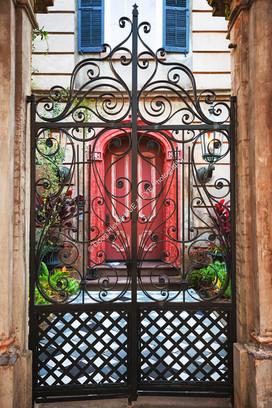 2002 Red Door Gate 01
