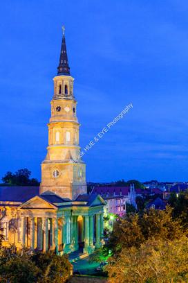 0909 Saint Philip's Church Dusk 01