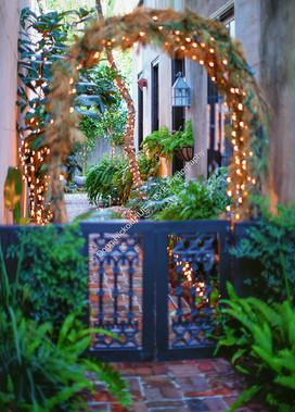 2001 Courtyard Lights