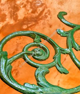 1109 Green Scroll