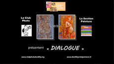 Dialogue Photo - Peinture