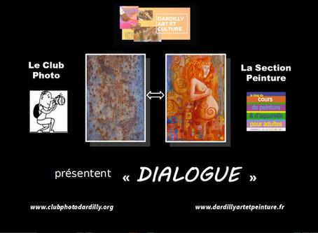 Exposition DIALOGUE Photo - Peinture