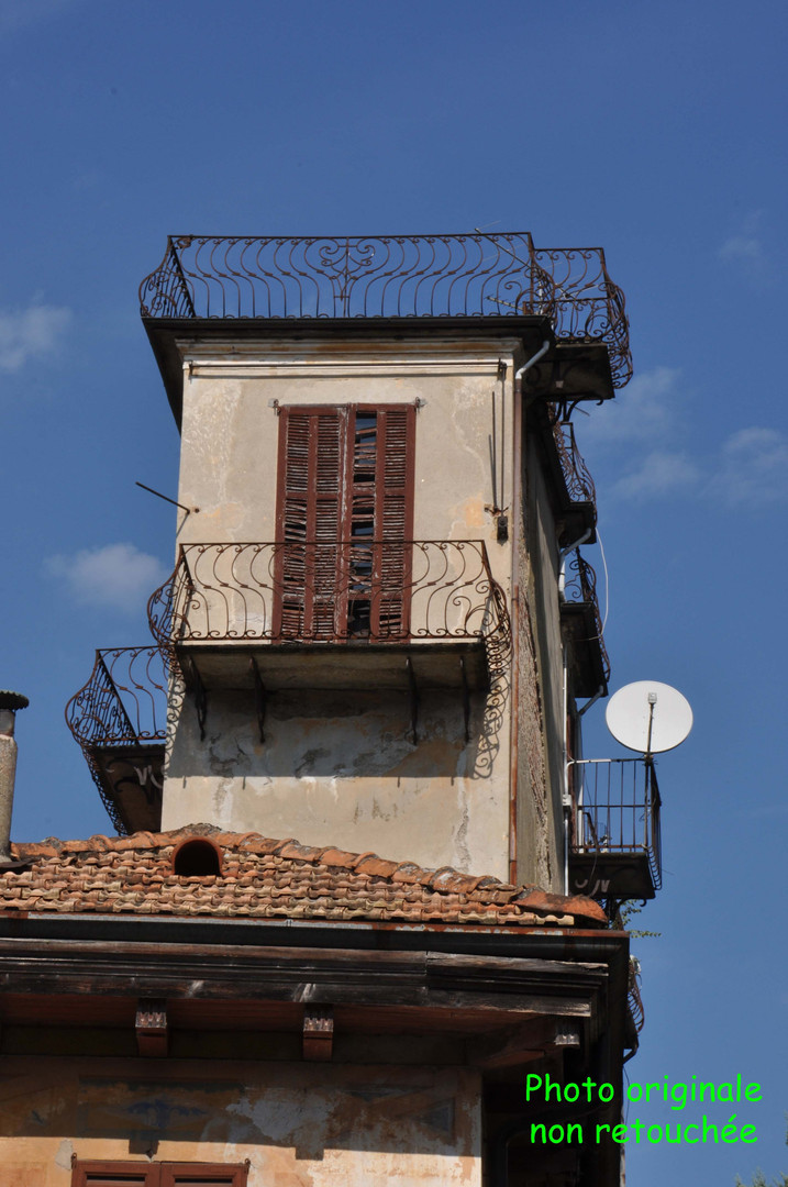 10 Original Balcons en Italie