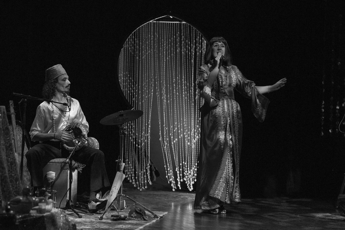 rcd_Maria Dolores y Habibi Starlight N&B