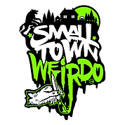 Small Town Weirdo Logo Photoshop File TM