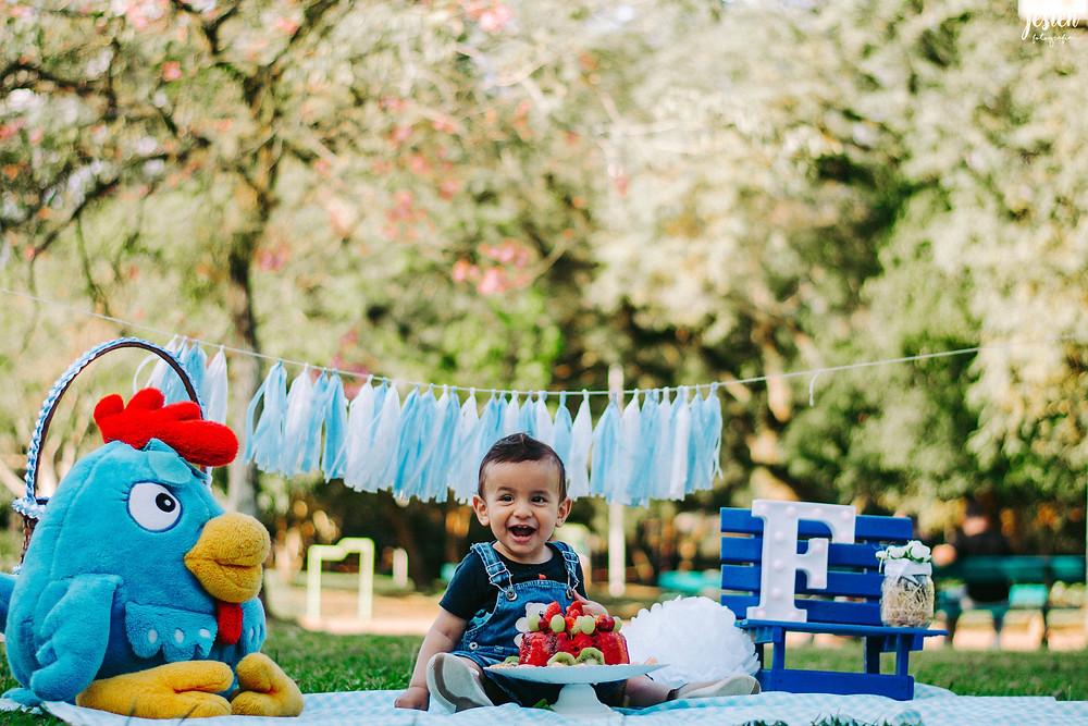 Ensaio Fotográfico Smash the Fruit, uma nova versão do Smash the Cake
