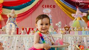 Primeiro aninho da Olívia - Fotos Festa Infantil