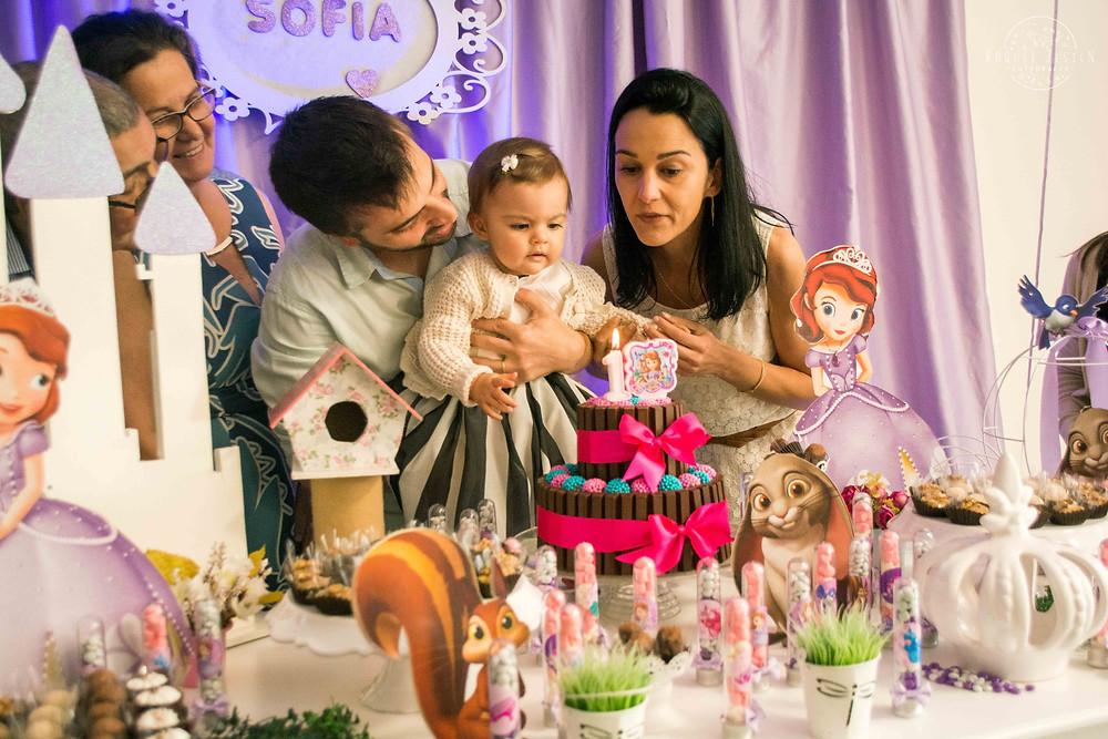 Fotos Aniversário 1 ano Sofia Porto Alegre