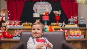 Fotografia de festa Infantil Porto Alegre - 1 ano do Vicente