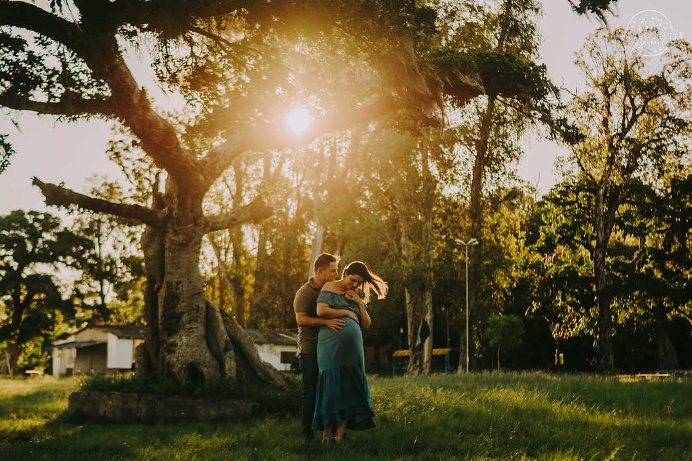 Ensaio Gestante Porto Alegre | Fotos gestante com marido