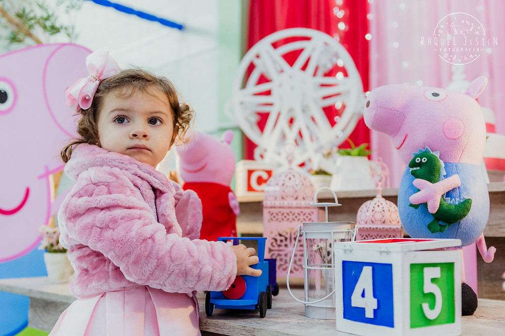Fotos Festa Infantil Porto Alegre 2 anos decoração peppa pig
