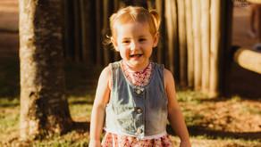 Ensaio de 2 anos da Betina | Book Infantil Porto Alegre