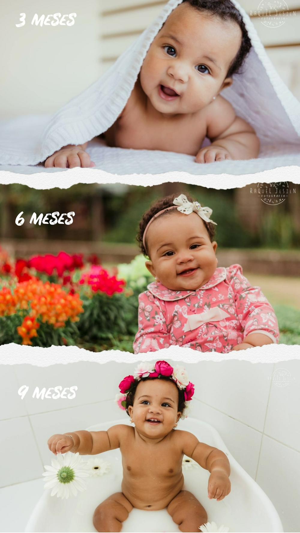 Acompanhamento mensal do bebe